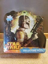 NEW SEALED Disney Star Wars Boba Fett 1000 Piece Collectors Puzzle in Ti... - $24.74