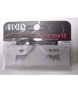 Ardell Strip Lashes Fashion Accent 308 Black (Pack of 6) - $21.97