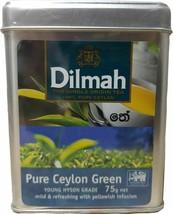 Dilmah Pure Ceylon Green Tea young Hyson Grade Single Origin Natural Tea - $9.68
