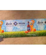 NEW--BLUE MOON BEER ADVERTISING BANNER-CORRUGATED--26 X 14--MAN CAVE-GAR... - $17.92