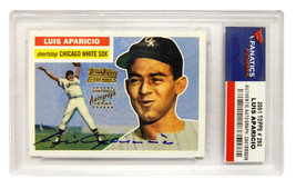 LUIS APARICIO Signed Chicago White Sox 2002 Topps Card #292 - FANATICS - $66.65