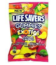 Lifesavers Gummies Exotics, 12 Count (SUGAR CANDY - PEG-BOARD BAGS) - $33.21