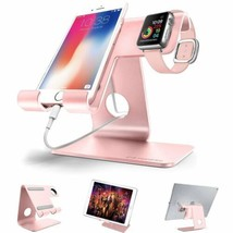Charging Station Stand Dock iPhone Apple Watch Smartphones Holder Mount NEW - $40.27