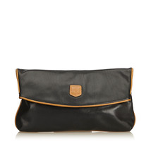Pre-Loved Celine Black Others Leather Clutch Bag France - $228.14