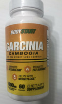 BodyStart GARCINIA CAMBOGIA 60 CAPSULES GARCINIA Made in USA Weight Loss... - $9.89
