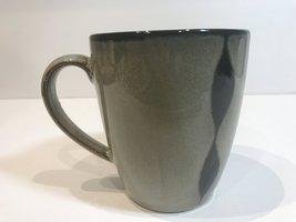 Sango Prelude Black Coffee Mug Brown Body w/Black & Brown Stripes # 4508 - $11.87