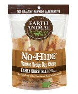 EARTH ANIMAL NO HIDE VENISON CHEW DOG TREATS 2 PACK DIGESTIBLE 4 INCH - $15.67