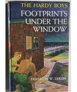 HARDY BOYS Footprints Under the Window by Franklin W Dixon (c) 1933 G&D HC - $12.86