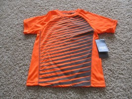 BNWT Everlast Active Boys' T-shirts, Size 5/6, Orange & Grey, pick pattern - $6.00