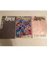 AVENGERS #1 AND #10 - GEORGE PEREZ KURT BUSIEK - FREE SHIPPING - $18.70