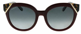 Salvatore Ferragamo SF836S 520 Ciruela Carey Cateye Gafas de Sol 53mm - $87.21