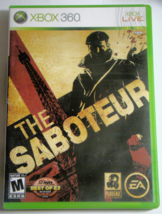 XBOX 360 - THE SABOTEUR (Complete with Manual) - $10.00