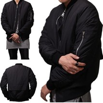 Men Sweatshirts Tracksuit  Air Force Crewneck Jacket Coat Hip Hop Street... - $67.32