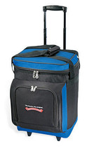 """GP 17"""" Navy Everest Plus Insulated 30-can Rolling Wheeled BBQ Picnic Coo... - $39.59"""