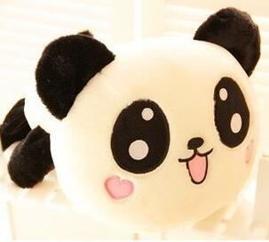 1pcs 15CM 2015 New Cartoon Batman panda doll kawaii plush toys  minion exported image 3