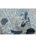 Signed Contemporary Chinese Art Print similiar Tie-Feng Jiang & Ting Sha... - $7,067.99