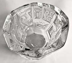 Lalique Crystal Bowl Commemorating the 32nd America's Cup Sailing Regatta MINT - $1,681.02