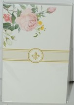 Faux Designs GP127 Posy Gift Notepad 50 Tear off Sheets image 1