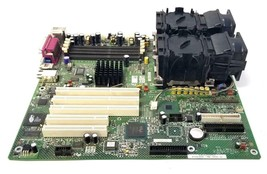 Intel SE7501CW2 Server Board W/ Dual Heat Sinks and Cooling Fans - $299.99