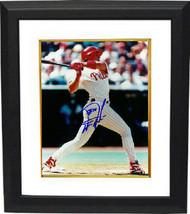 Darren Daulton signed Philadelphia Phillies 8x10 Photo Custom Framed (ri... - $74.95