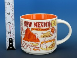 Collectible Starbucks Porcelain Coffee Mug 14oz 2018 Been There New Mexico - $14.96