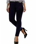 Buffalo David Bitton Women's Karolin Stretch Jeggings Pant  Dark Blue Sz 16 - $21.57