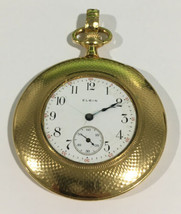 Elgin 14k Yellow Gold Antique Automatic Pocket Watch - $2,206.00