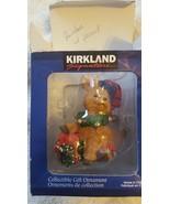 Kirkland Signature Christmas Ornament Reindeer With Present - $6.92