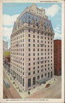 Baltimore and Calvert Streets New Emerson Hotel - $5.00