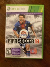 FIFA SOCCER 13 GAME MICROSOFT XBOX 360, GAME DISC, CASE, INSERTS, EA SPORTS - $9.66
