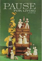 Pause for Living Autumn 1969 Vintage Coca Cola Booklet Halloween Footbal... - $5.93