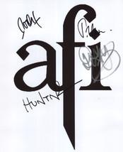 AFI (Band) Davey Havok FULLY SIGNED Photo + COA Lifetime Guarantee - $97.99