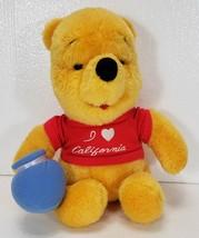 Vintage Winnie the Pooh Plush Toy I Love California Shirt - $14.99