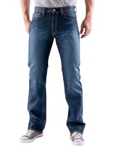 New Levi's Strauss 501 Men's Original Fit Straight Leg Jeans Button Fly 501-1320 image 2