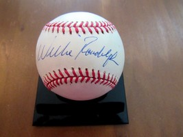 Willie Randolph 1977-1978 Wsc Yankees 2ND Baseman Signed Auto Vtg Baseball Jsa - $89.09