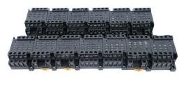 Lot Of 13 Omron PTF14A-E Relay Sockets 10 Amp 4POLE 250V, PTF14AE - $75.95
