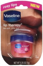 Vaseline Lip Therapy Rosy Lips Pack of 2 0.25 Oz. / 7 Grams - $10.10