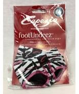 Capezio Lyrical Dance Foot Undeez Undies, Zebra Print, Size Petite (4-5)... - $14.24