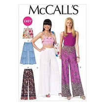 McCall's Patterns M7164 Misses' Shorts and Pants Sewing Template, Y (XSM-SML-MED - $14.21