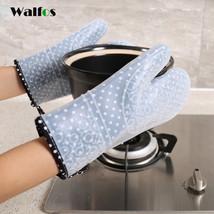 WALFOS one piece newest design SUPER Thick silicone oven glove cotton ki... - $13.21