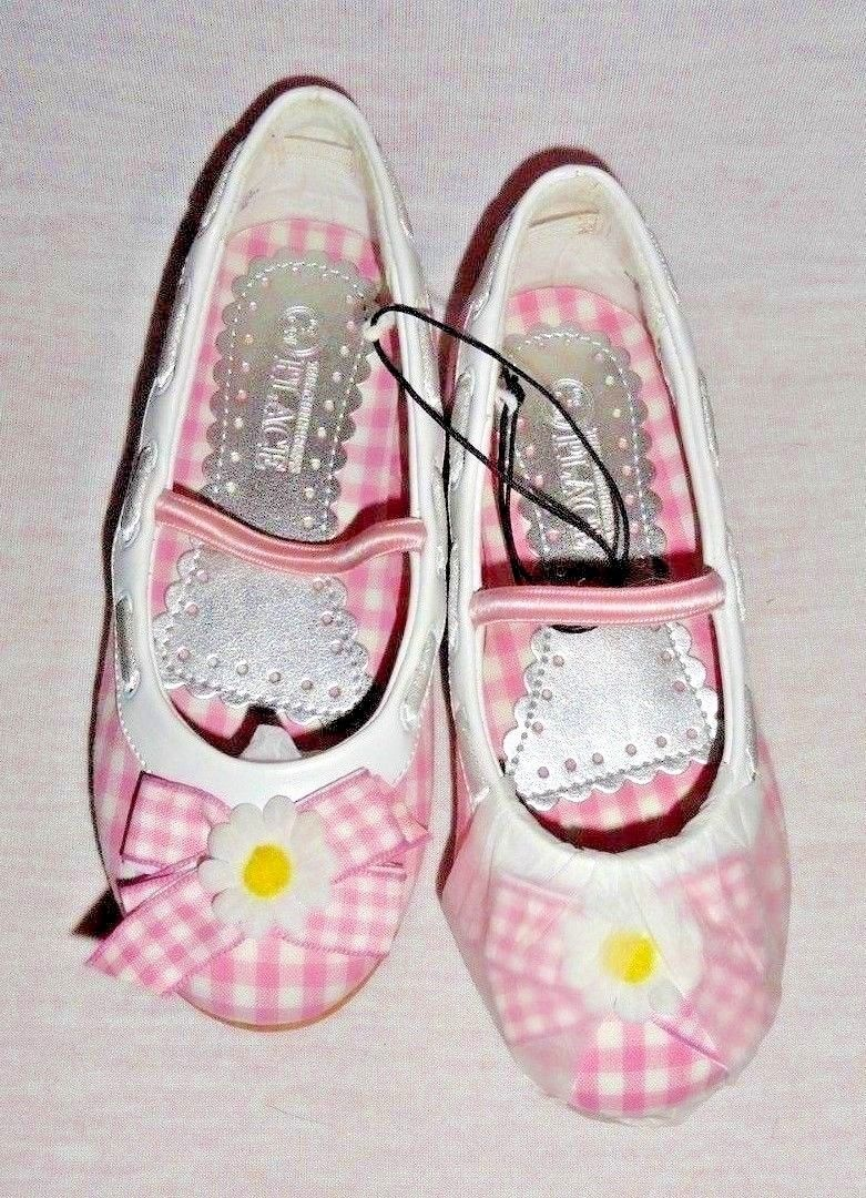 NWT girls shoes size 9.5 The Children's Place Pink Gingham Easter Spring Shoes - $15.00