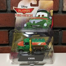 Disney Planes Fire & Rescue Chug Mattel Die-Cast Vehicle Fuel Truck Toy Car 2014 - $24.17