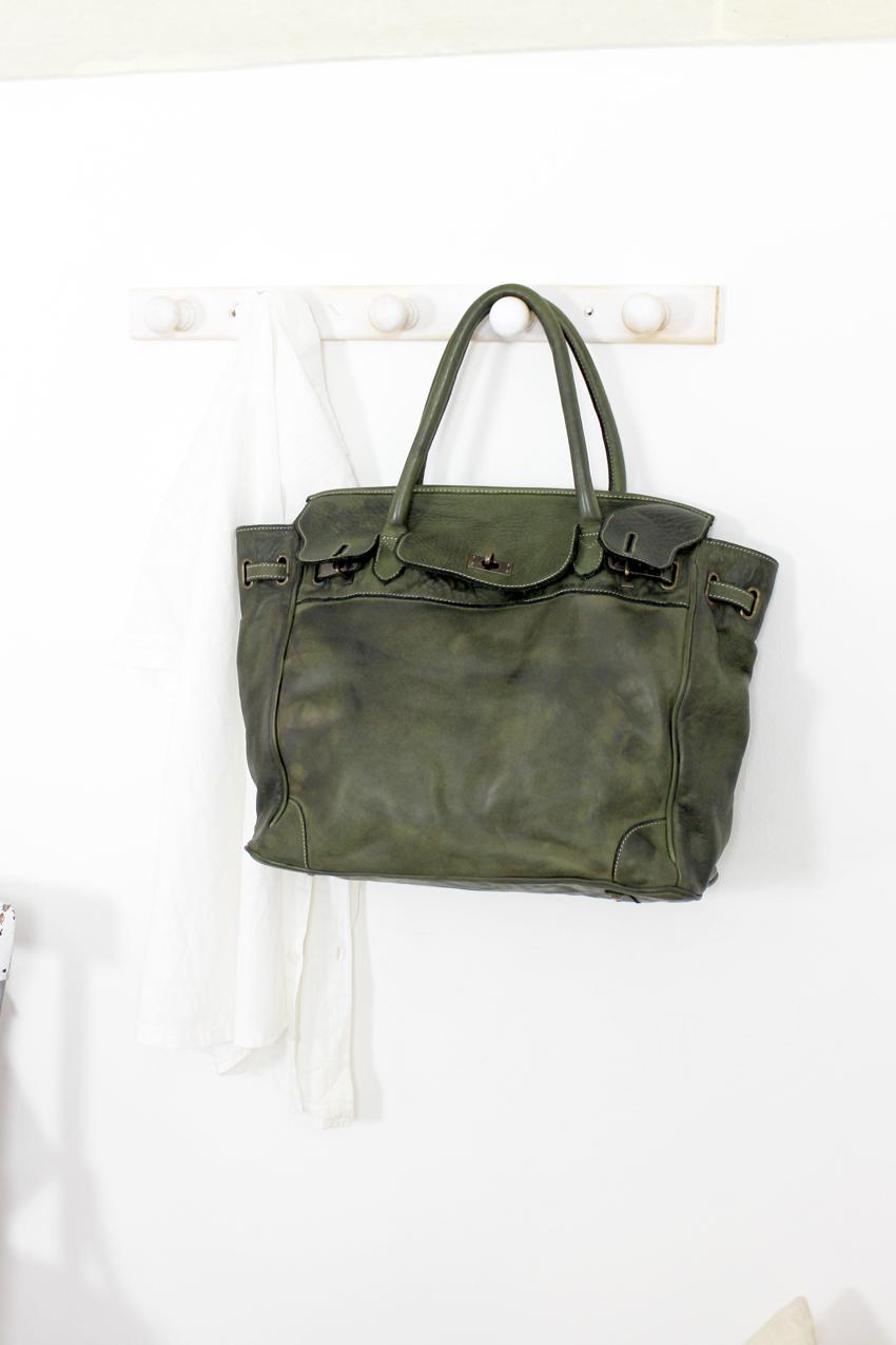 CLOSER BAG handmade leather bag image 7