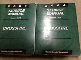 2004 CHRYSLER CROSSFIRE Service Shop Repair Manual Set BRAND NEW - $272.24