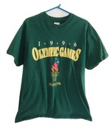 Vtg 1992 Atlanta Olympics 1996 Single stitch T-shirt L Hanes Beefy T Lar... - $33.25
