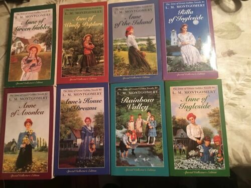 L.M.Montgomery ANNE OF GREEN GABLES NOVELS Books 1-8 Special Collector's Edition