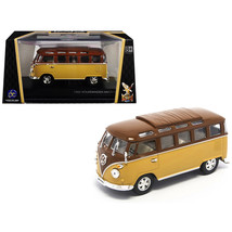 1962 Volkswagen Microbus Van Bus Brown 1/43 Diecast Model by Road Signat... - $24.39