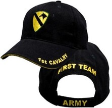 US ARMY 1ST CAVALRY - U.S. Army with 1st Cavalry Logo Military Baseball ... - $23.95