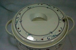 """Mikasa 2000 Annette CAC20 8 5/8"""" Tureen With Lid - $20.09"""