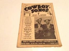 COWBOY SONGS MAGAZINE NUMBER 45 [Paperback] [Jan 01, 1955] VARIOUS - $16.43
